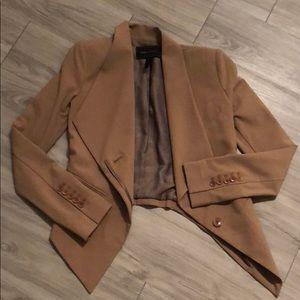 BCBGMaxAzria Jackets & Coats - BCBG Camel/Beige/Tan XXS Blazer